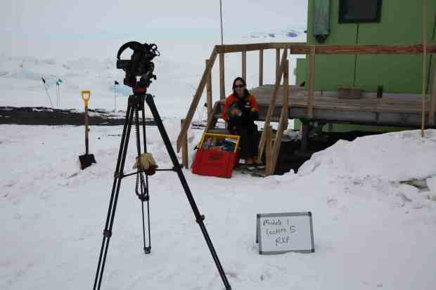 Prepping for a lecture: Module 1, Lecture 5: Surviving Antarctica. In this lecture I talk about food, fuel and transport and how these needs have been met in different ways over time.