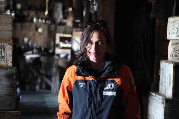 Happy Place: inside Scott's Terra Nova Hut at Cape Evans. Photo Rebecca Priestley.