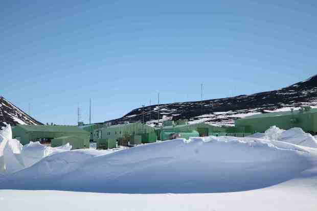 Scott Base: apart from when we were glamping up at Friis Hills, this was our home in Antarctica. Thanks Antarctica New Zealand! Photo Rebecca Priestley.